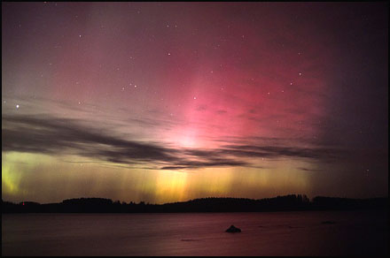Aurora Borealis photography by Tom Eklund