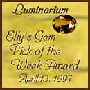 Elly's Gem Pick of the Week, April 13, 1997.