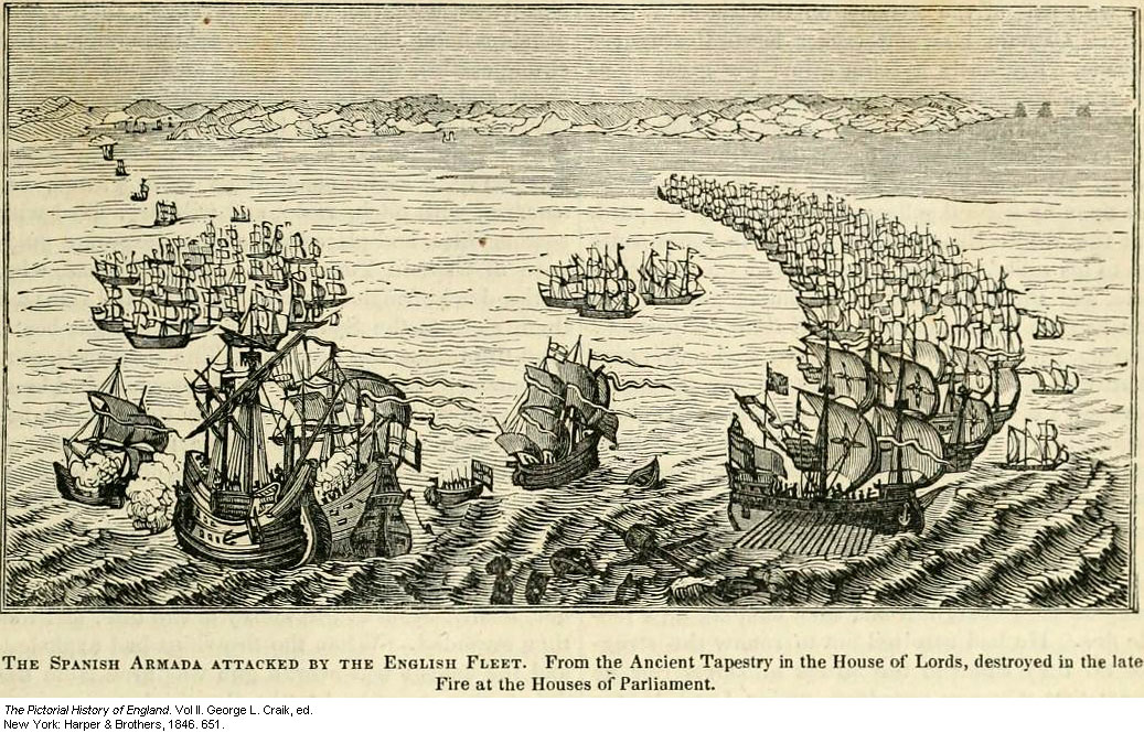 Image of: The Spanish Armada 1588