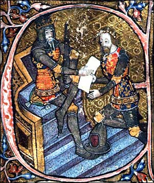 Edward, the Black Prince of Wales (1330-1376) [English