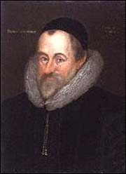 William Camden, by Marcus Gheeraerts the Younger, 1609.