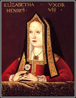 Portrait of Queen Elizabeth of York