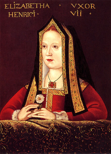 QUEEN ELIZABETH OF YORK (1466-1503): Queen Consort of Henry VII