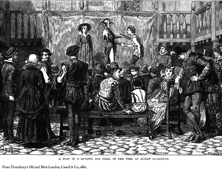 elizabethan theatre and its audience Main characteristics of elizabethan theatre - the influence of the theatre on the   the prospect of a good audience, they usually performed in the courtyards of.