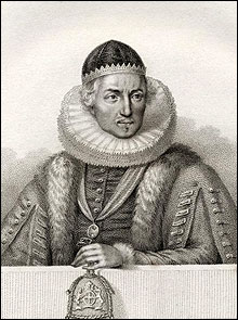 Engraving of Henry Montagu, Earl of Manchester