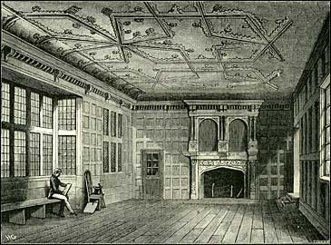 19th-century drawing of the Star Chamber