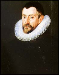 Portrait of Sir Francis Walsingham.