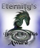 Eternity's Best of the Web Award