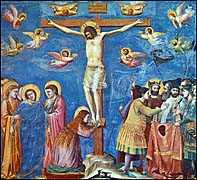 Giotto di Bondone. Crucifixion