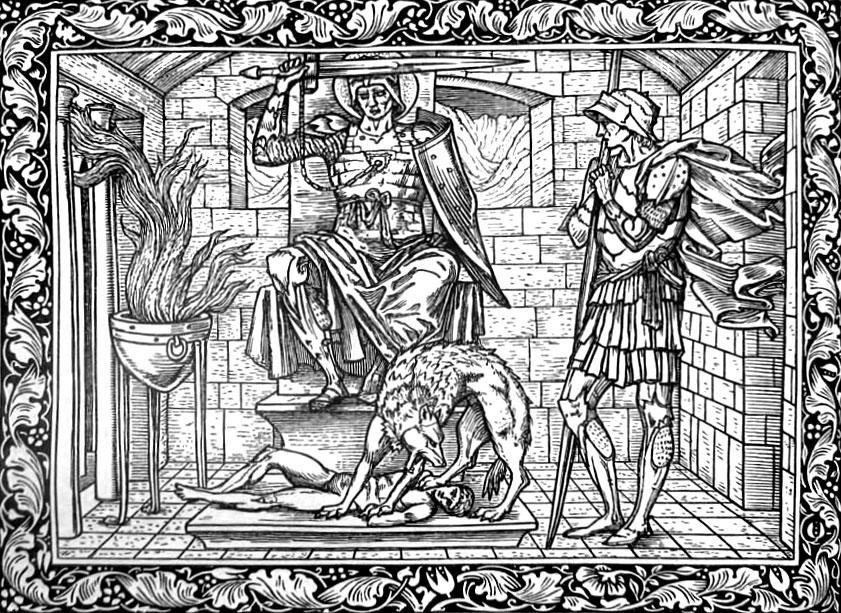 imagery in the wife of baths tale