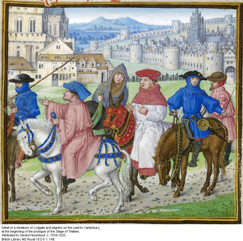the canterbury tales Other collections of tales existed before chaucer's, the most famous being  boccaccio's decameron, in which three young lords and seven young ladies  agree t.