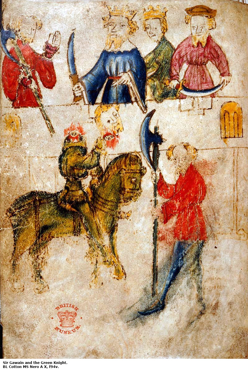 gawain and the green knight essays