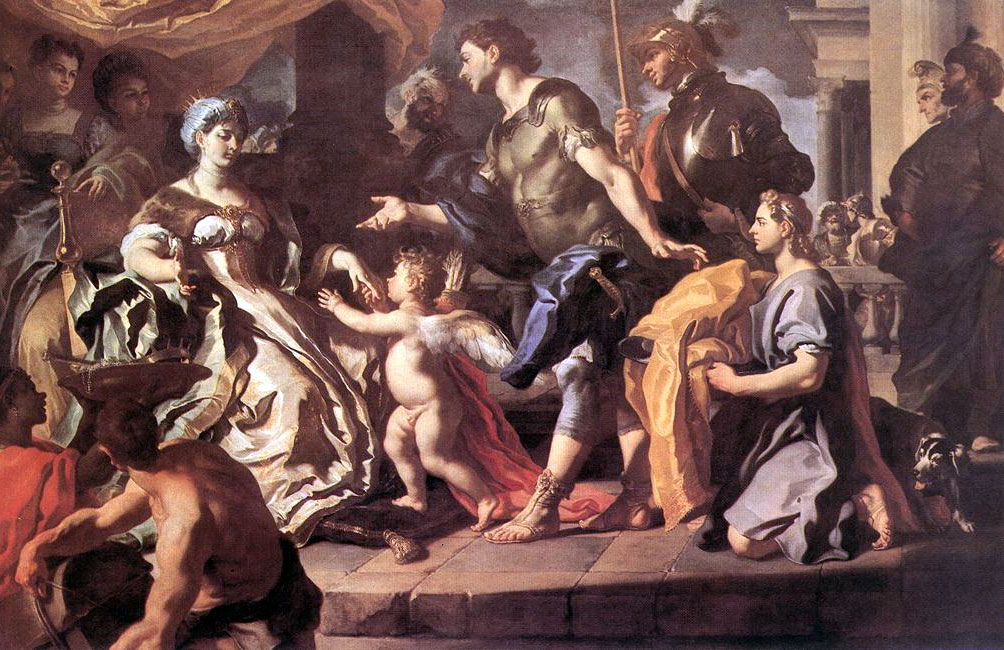 Leadership in the Aeneid and The Prince