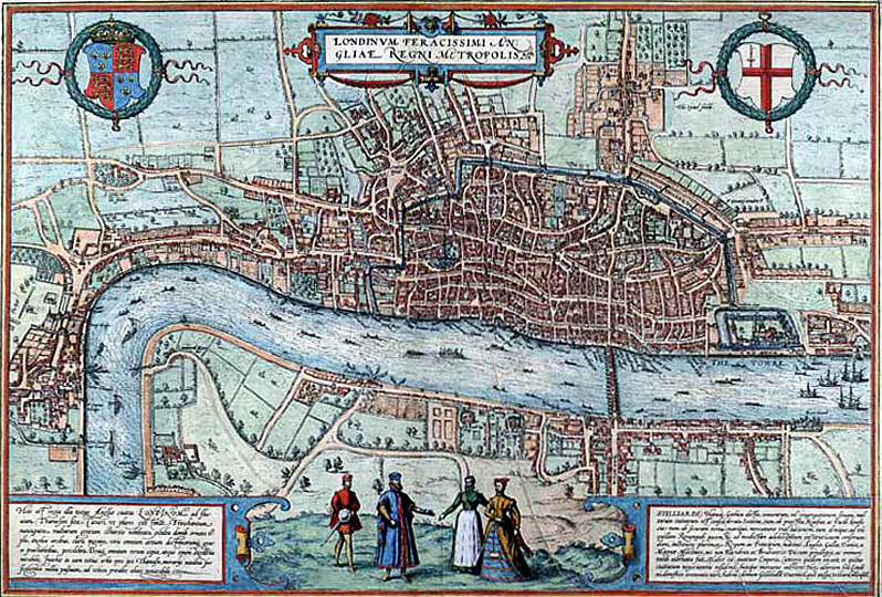 Map Of London 1600.Renaissance English Drama The Sociopolitical Climate In Elizabethan