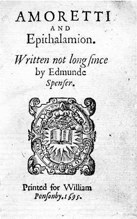 analysis of amoretti sonnet 30 edmund spenser Sonnet 54 by edmund spenser of this worlds theatre in which we stay my love like the spectator ydly sits beholding me that all the pageants play disguysing diversly my troubled.