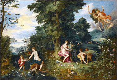 Jan Brueghel the Younger and Hendrick van Balen. Allegory of the Four Elements, c1630.