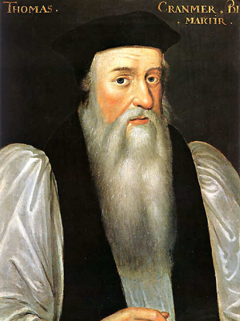 Thomas Cranmer works
