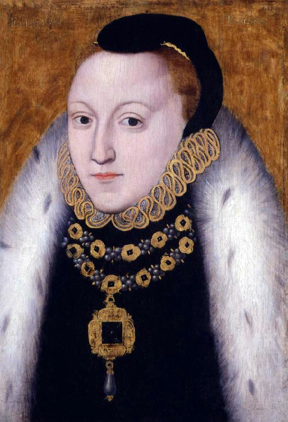 queen elizabeth 1 portrait. Queen Elizabeth, c. 1560.