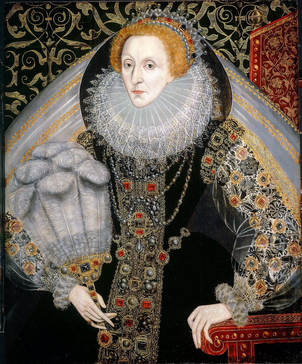 Portraits of queen elizabeth i the middle years 1573 1587