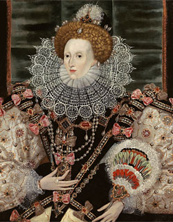 Another copy of the Armada Portrait, c.1590