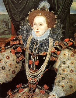 Another copy of the Armada Portrait, NPG