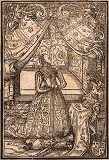 Frontispiece of The Queen's Prayerbook