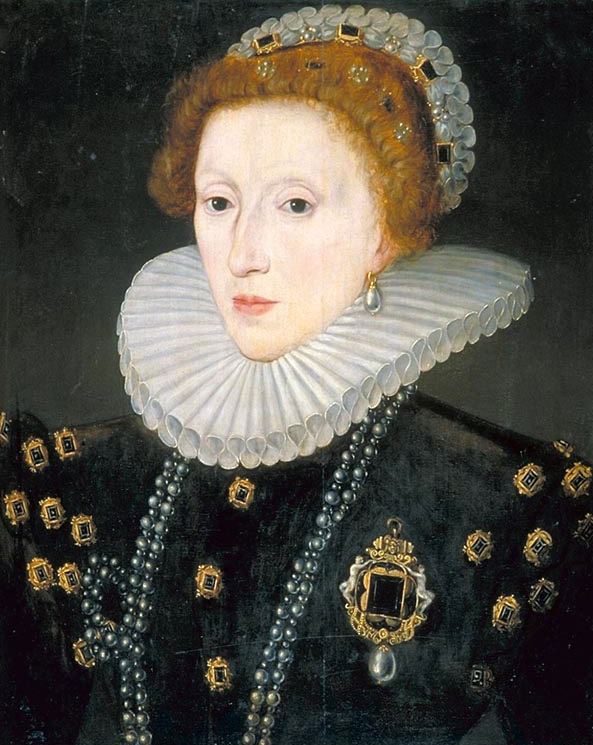 queen elizabeth the first portraits. Queen Elizabeth I, c. 1580.