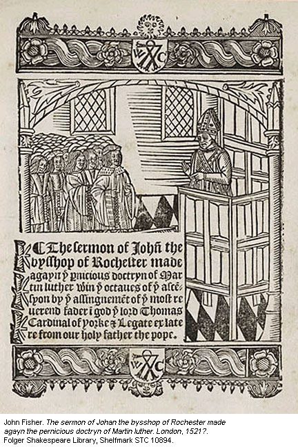 The Works of John Fisher, Bishop of Rochester