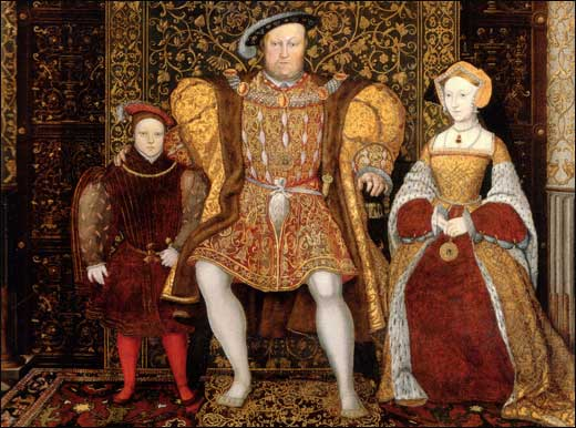 Portraits of King Henry VIII: Family Portraits [Tudor pictures].