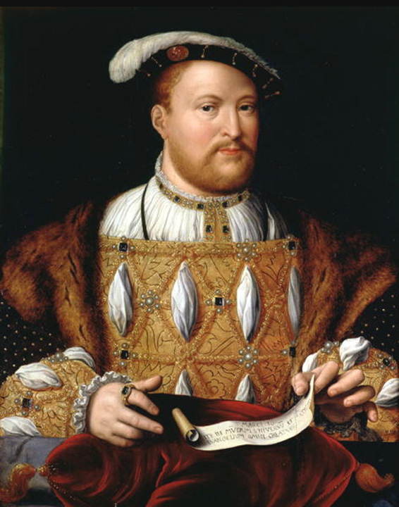 mary i and henry viii relationship