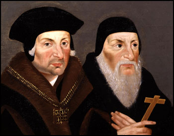 Sir Thomas More and Bishop John Fisher.