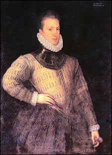 Sir Philip Sidney Portrait, 1576. Penshurst Place