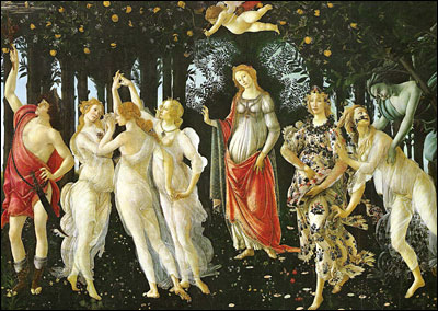 Botticelli. Primavera. 1478.