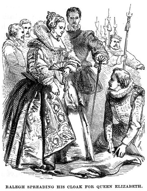Walter Raleigh and elizabeth