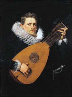 Rubens. Lute Player. Early 17thC.