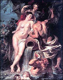 Rubens. Union of Earth &amp; Water, 1618.