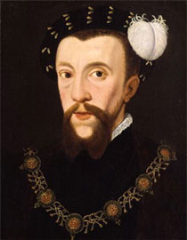 Portrait of Henry Howard, Earl of Surrey, 1546. NPG