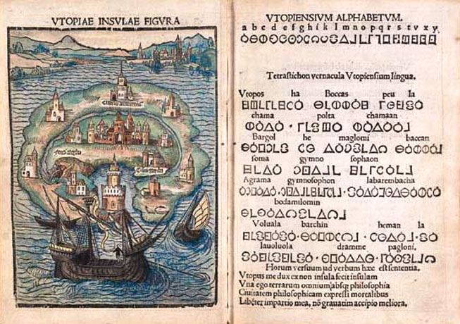 an analysis of utopia by sir thomas more of the renaissance Thomas more's utopia was humanism in renaissance literature how much was more influenced by the renaissance like other humanists in the renaissance, he looked to the future influenced by the past.
