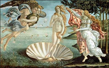 Sandro Botticelli. The Birth of Venus, 1485
