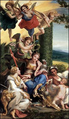 Correggio. Allegory of Virtue, c1530.