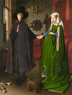 Jan van Eyck. The Arnolfini Marriage, 1434