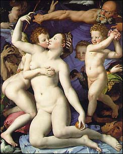 Bronzino. Venus, Cupid and Time. 1540-45.