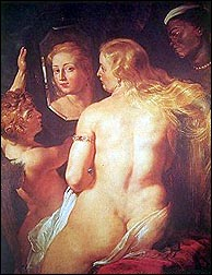 Rubens (1577-1640). The Toilet of Venus.