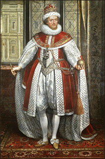 Portrait of James I
