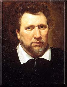 Ben Jonson after Abraham van Blyenberch (c) copyright National Portrait Gallery, London
