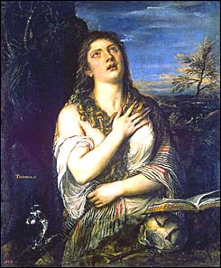 Titian. Penitent Mary Magdalen