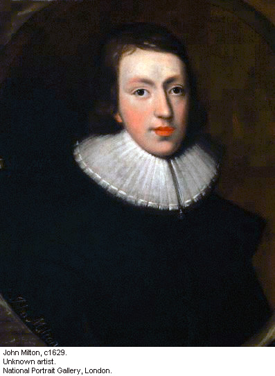 The young John Milton