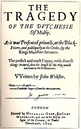 duchess of malfi essay questions Struggling with themes such as power in john webster's the duchess of malfi we've got the quick and easy lowdown on it here.